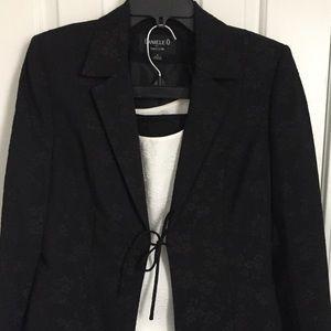 Tahari Levine Ladies' 3 Piece B&W Skirt Suit
